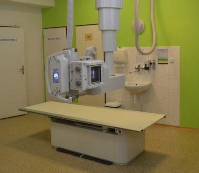 Radiodiagnostické oddělení Jesenické nemocnice má nový skiagrafický přístroj