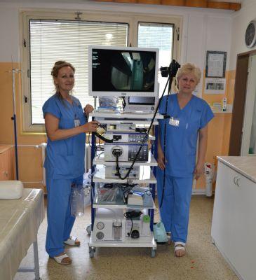 Gastroenterologové Jesenické nemocnice využívají novou endoskopickou věž